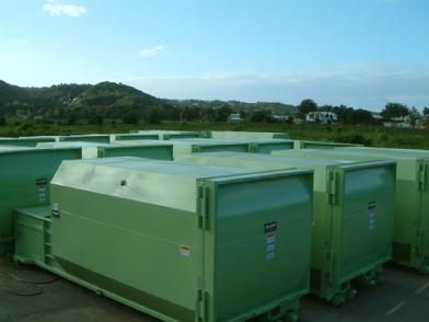 Marathon's - Self Contained Compactor's Stock Yard