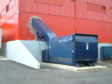 Special Fabrication of a chute for a Marathon compactor at a Supermarket